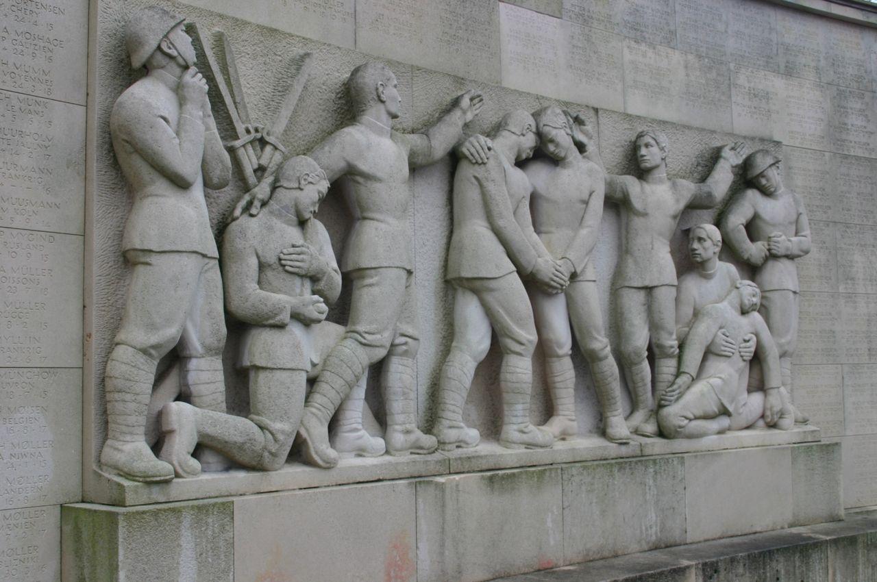 26/3-2020 Genforeningstiden: Slesvig delt / Monumentet i Mindeparken (AFLYST)
